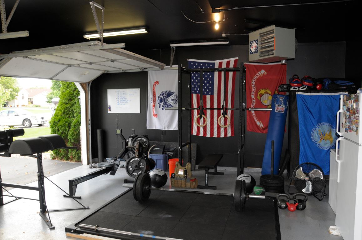 Easy Garage Man Cave : Awesome crossfit gyms home and garage setups u box junkies