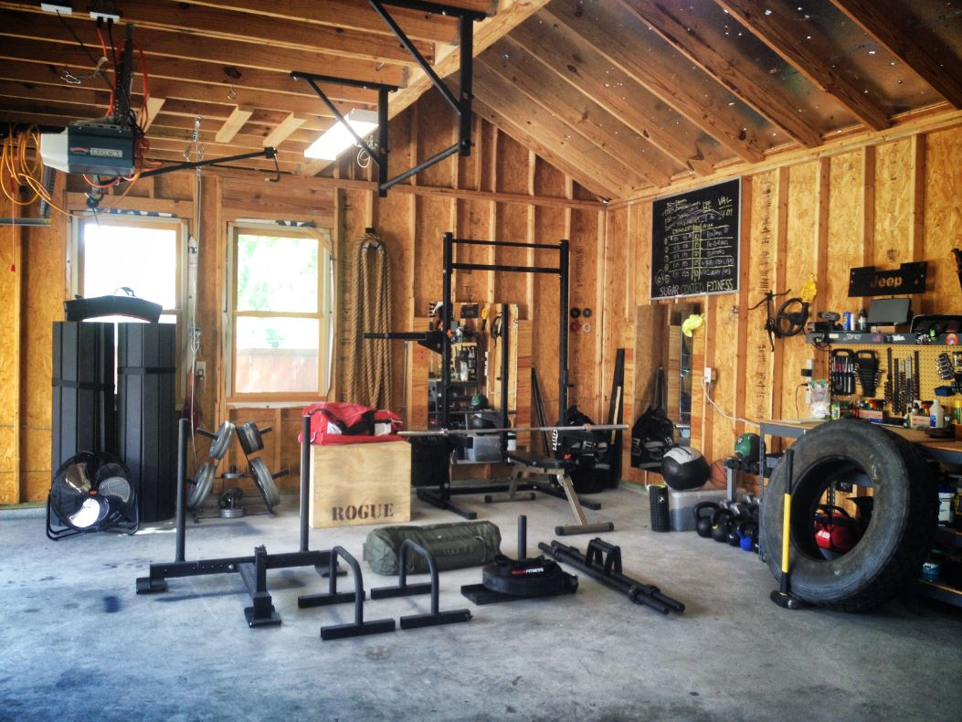 Crossfit outhouse gym