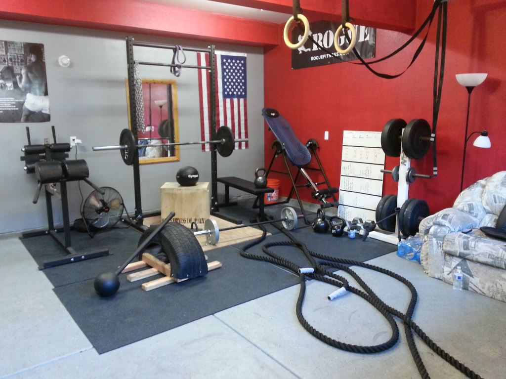 Crossfit garage gym equipment ppi