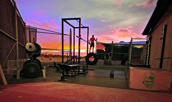 crossfit garage gym awesome home setups ideasawesome crossfit gyms outdoor