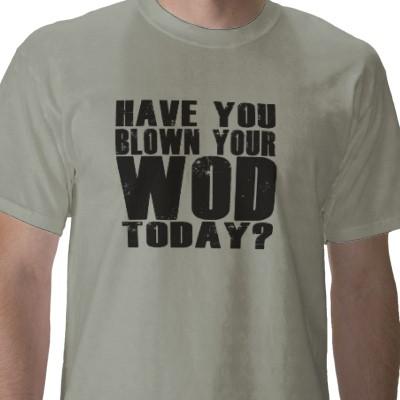 wod crossfit t-shirt