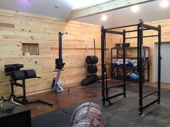 home crossfit rig