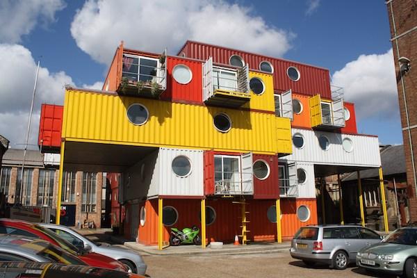 money saving container city living