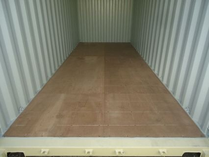 container floor inspection