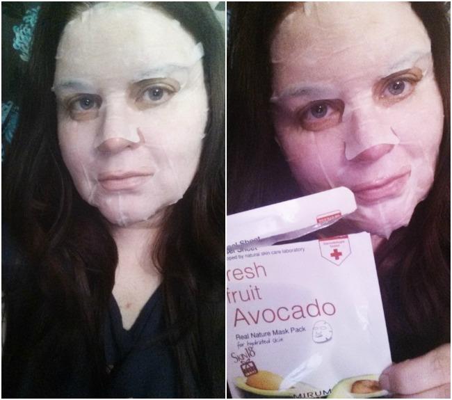 Mirum Fresh Fruit Avocado Mask Pack