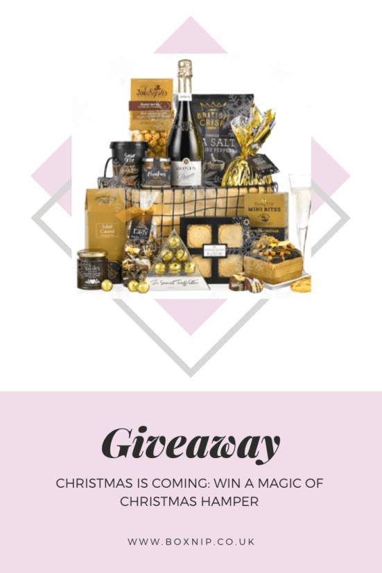 CHRISTMAS IS COMING: WIN A MAGIC OF CHRISTMAS HAMPER - PIN THIS!