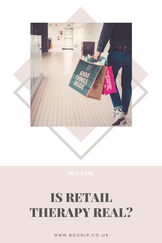 Is Retail Therapy Real? PIN THIS!