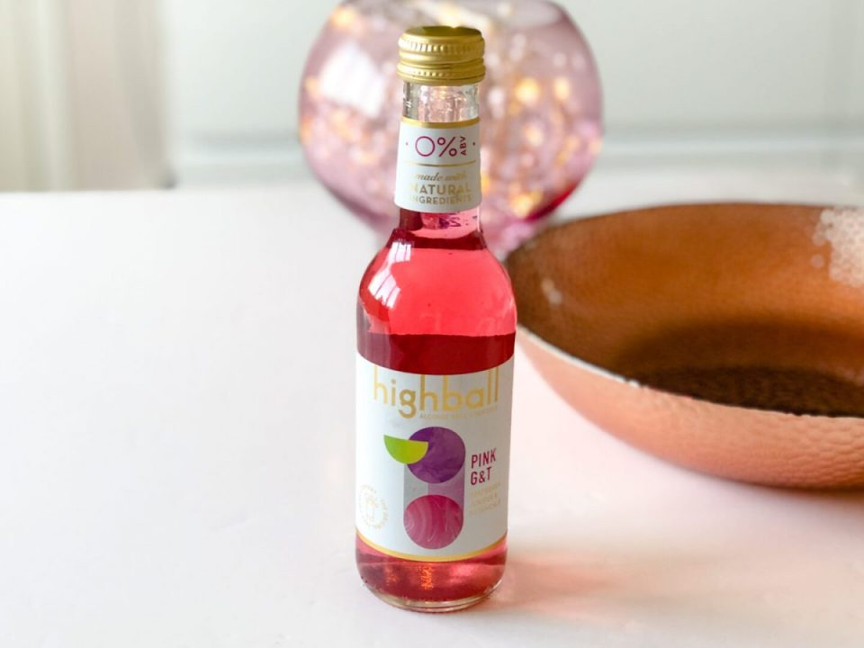 Highball Alcohol Free Cocktails Pink G & T- March 2020 Degusta Box