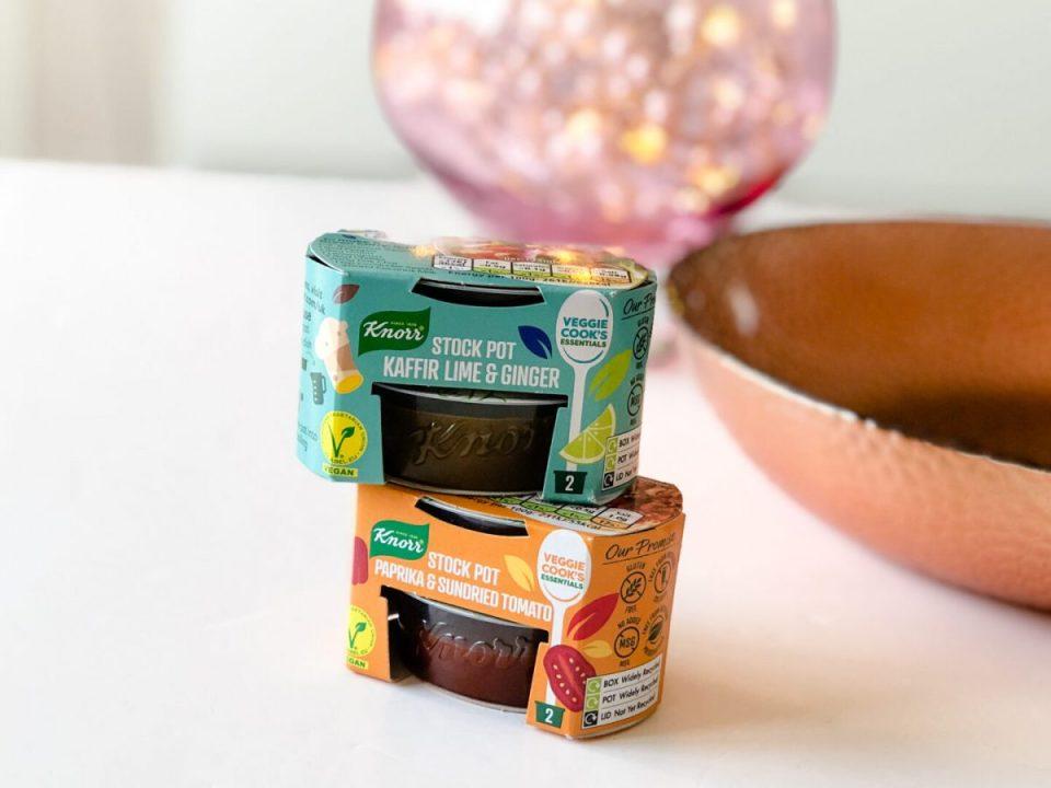 Knorr Kaffir Lime & Ginger Stock Pot / Paprika & Sundried Tomato Stock Pot - March 2020 Degusta Box