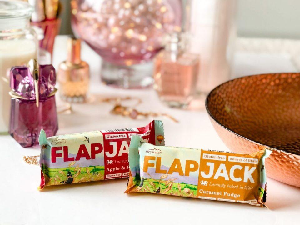 Brynmor Flapjack - Caramel Fudge / Apple & Raspberry