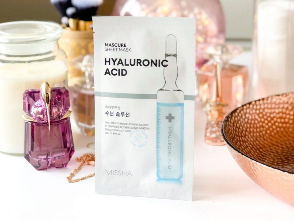 MISSHA Mascure Hyaluronic Acid Mask