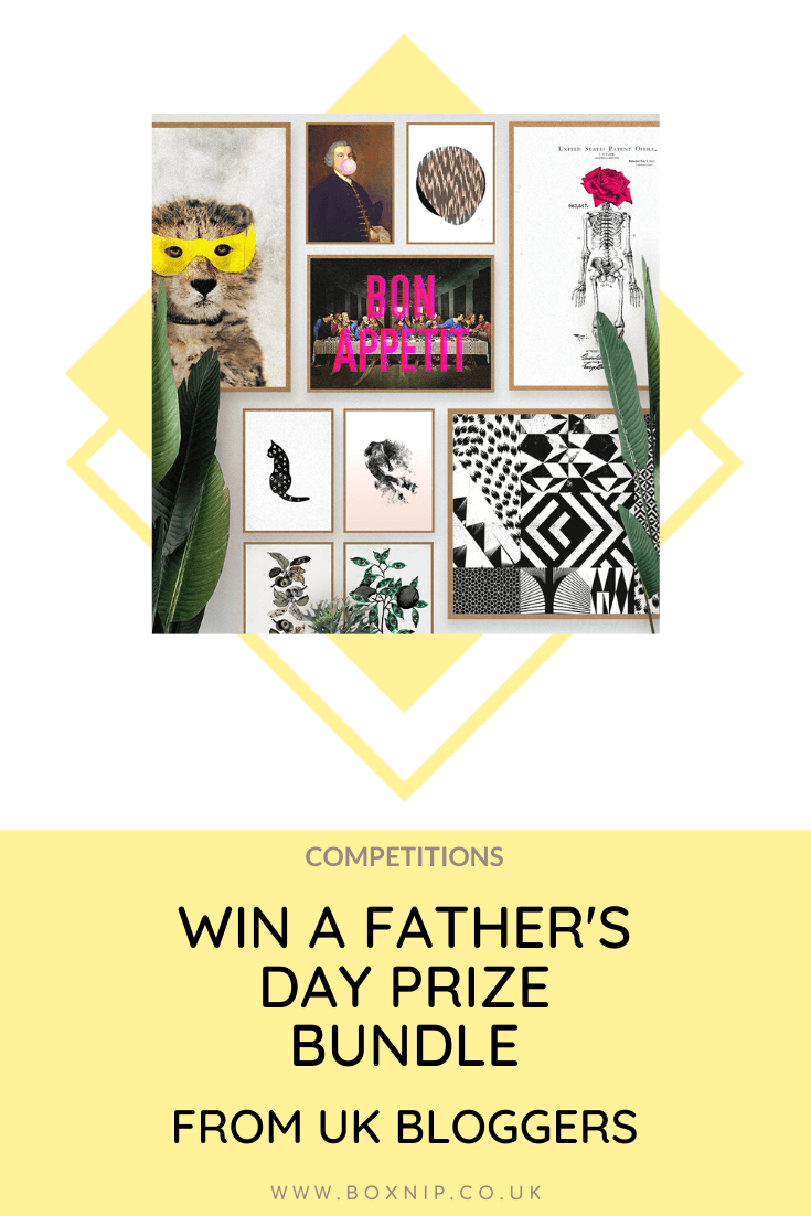 Father's Day Prize Bundle Giveaway