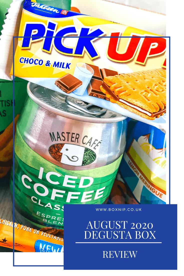 August 2020 Degusta Box