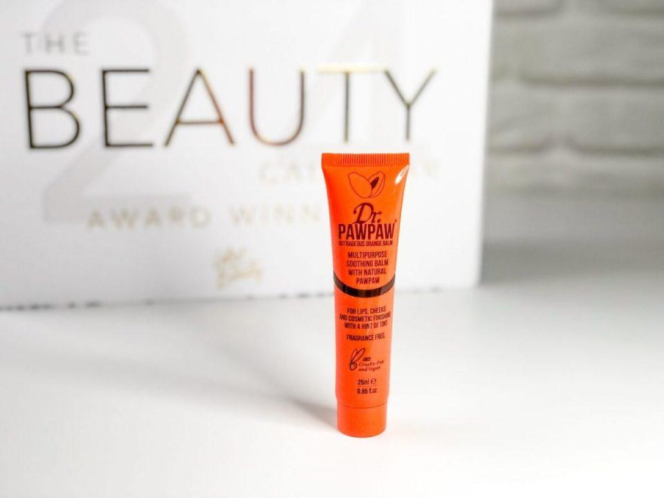 Dr. Paw Paw Outrageous Orange Balm - Beauty Calendar: The Award Winners