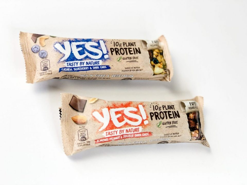 YES! Plant Protein Bars - Degusta Box October 2020