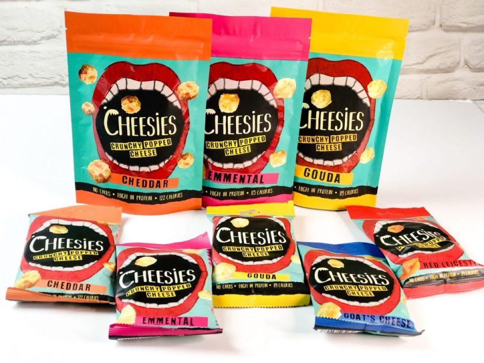 Cheesies crunchy cheese snack
