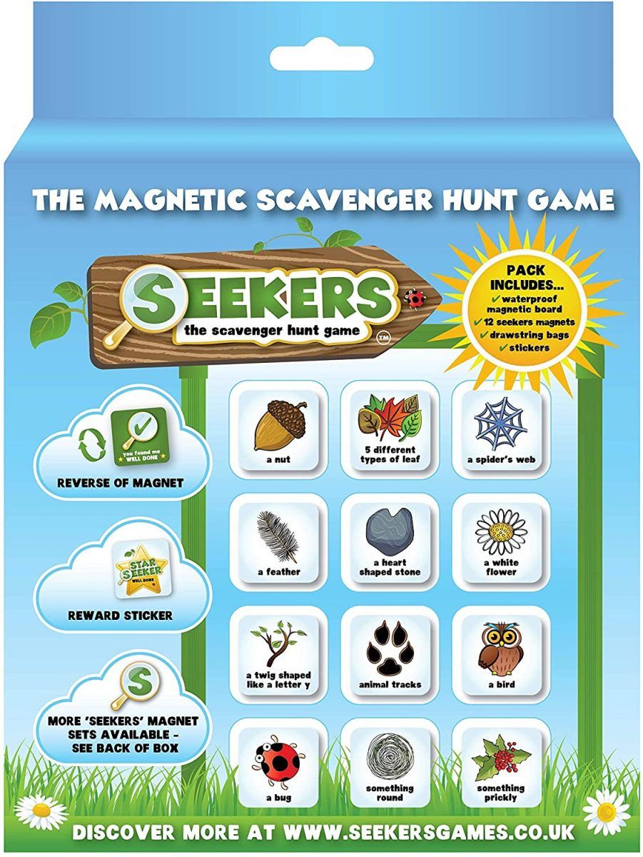 Scavenger Hunt Game From SEEKERS - Mother's day gifts