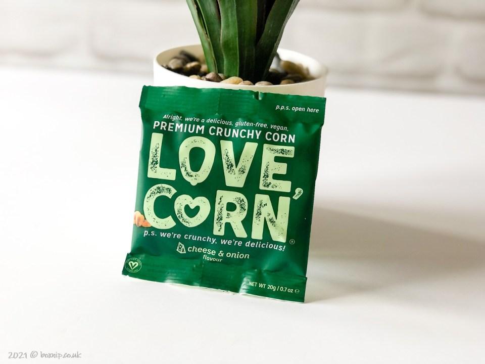 LOVE CORN Cheese & Onion - Degusta Box for July 2021