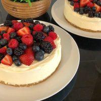 Easy No Bake Cheesecake Recipe with Elegear Electric Hand Mixer