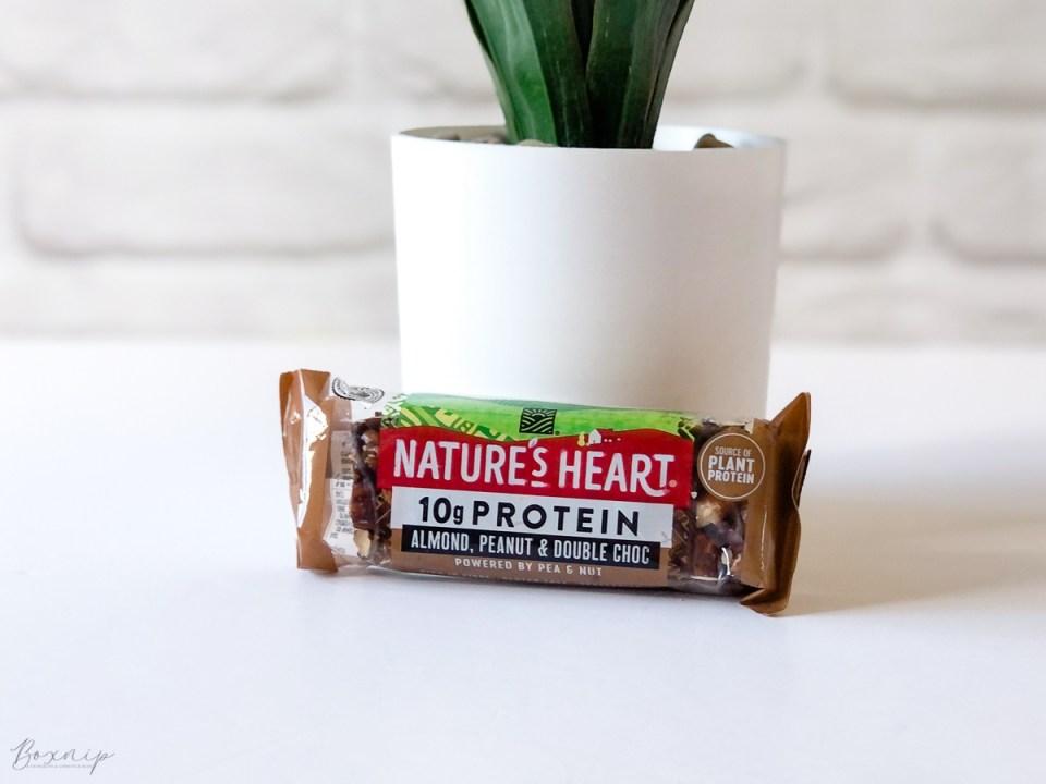 Nature's Heart Almond, Peanut & Double Choc Protein Bar - Degusta Box For September 2021