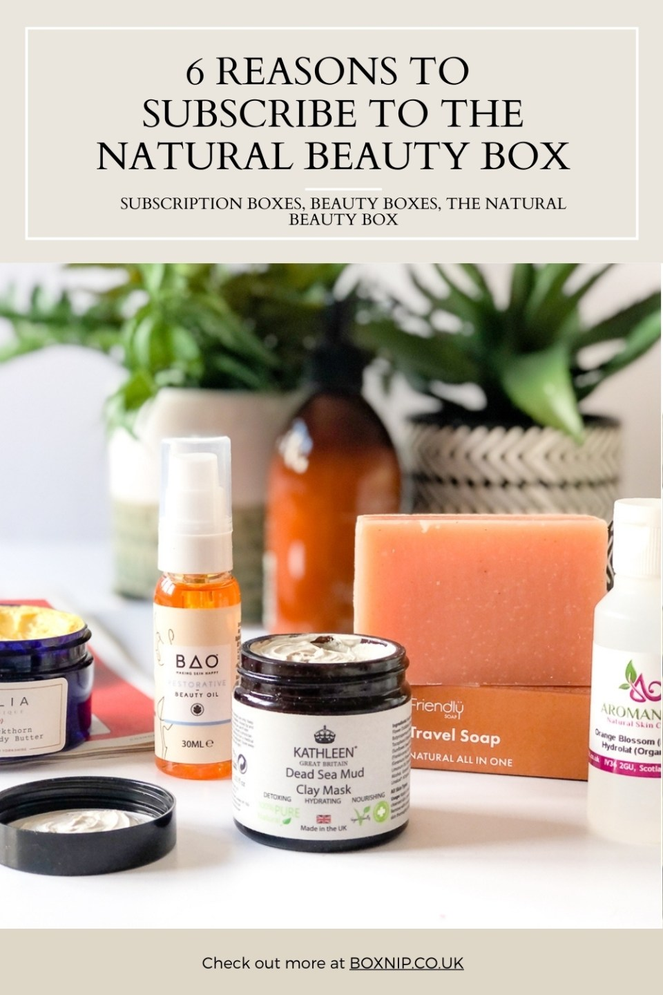 6 REASONS TO SUBSCRIBE TO THE NATURAL BEAUTY BOX
