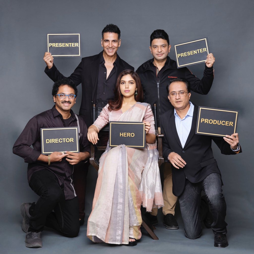 Akshay Kumar Announces Bhumi Pednekar As 'Hero' Of Their Upcoming Film Durgavati