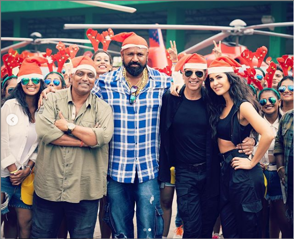 Akshay Kumar & Katrina Kaif Shoot Carnival Song For SOORYAVANSHI