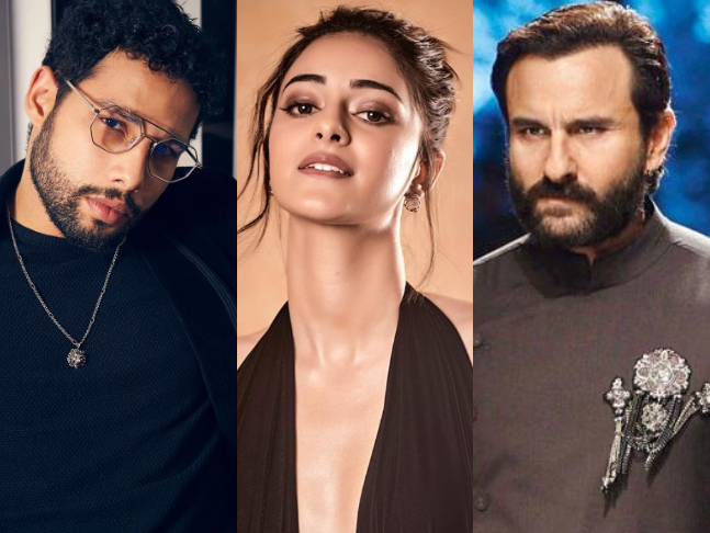 Saif Ali Khan Will Be Sharing The Screen Space With Siddhant Chaturvedi and Ananya Panday In His Next Film LAFDEBAAZ
