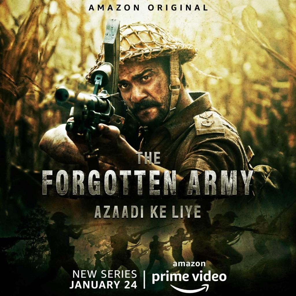 Amazon Prime Video Releases The Trailer Of Amazon Original Series 'The Forgotten Army – Azaadi Ke Liye'