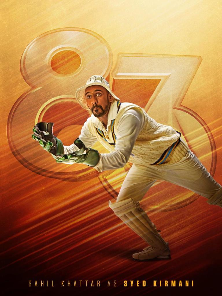 83: The Character Poster Of Sahil Khattar As Syed Kirmani Is Out Now