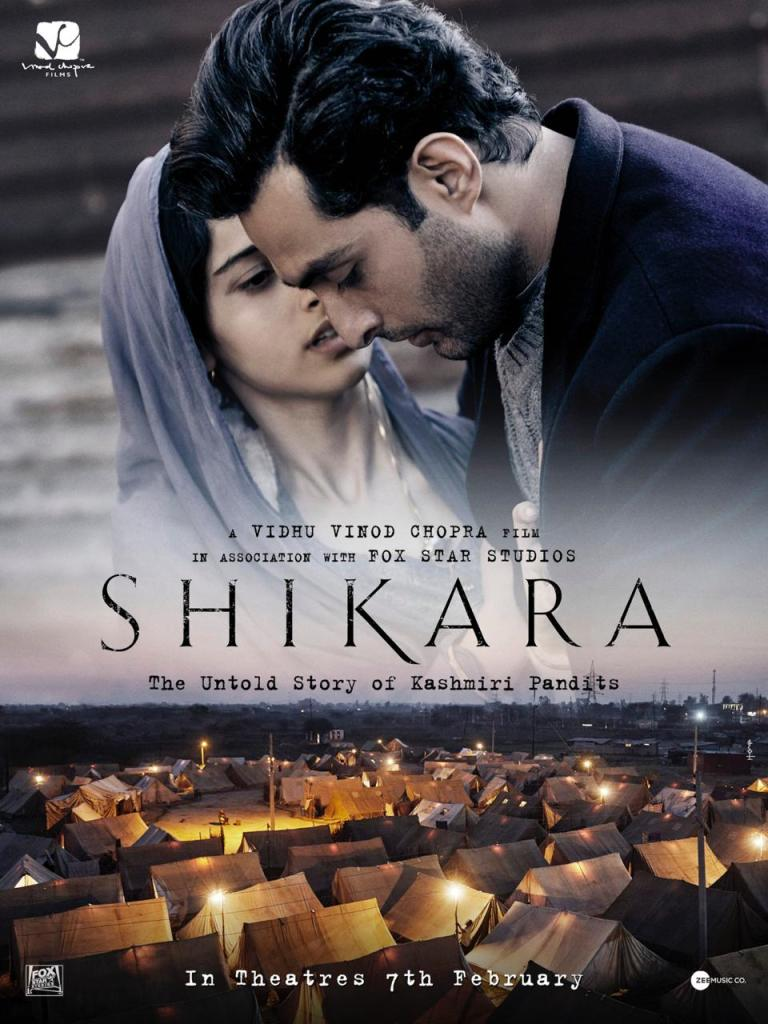 Vidhu Vinod Chopra's SHIKARA Releases A Gripping New Visual, New Poster Out!