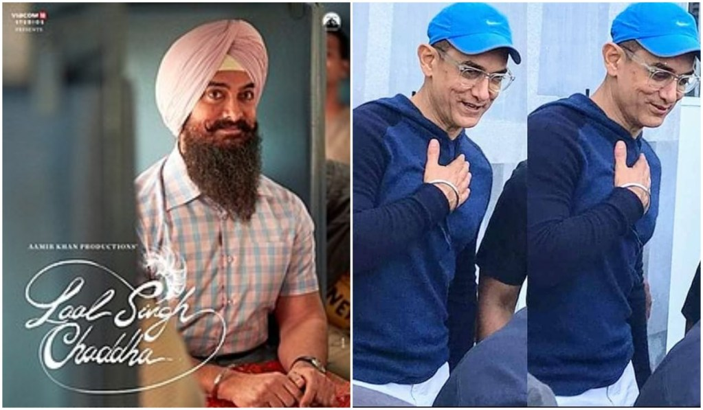 Aamir Khan's Clean Shaven Look From Laal Singh Chaddha Is winning The Internet