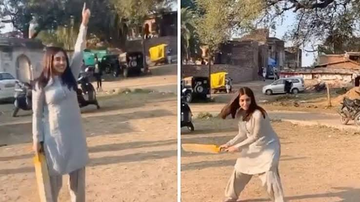 Bhumi Pednekar Turns Cricketer While Shooting For DURGAVATI, Here's How!