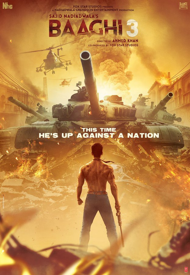 BAAGHI 3: The First Poster Of Tiger Shroff Is Out & It Looks Exciting!