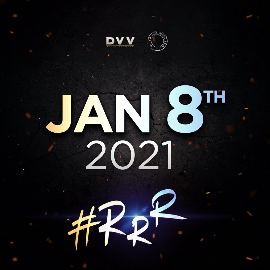 SS Rajamouli's 'RRR' With Ram Charan & Jr.NTR To Release On Jan 8th 2021!