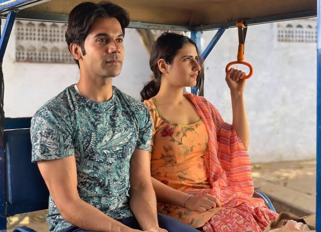 Fatima Sana Shaikh Shared A Glimpse With Rajkummar Rao From Her Upcoming Flick LUDO!
