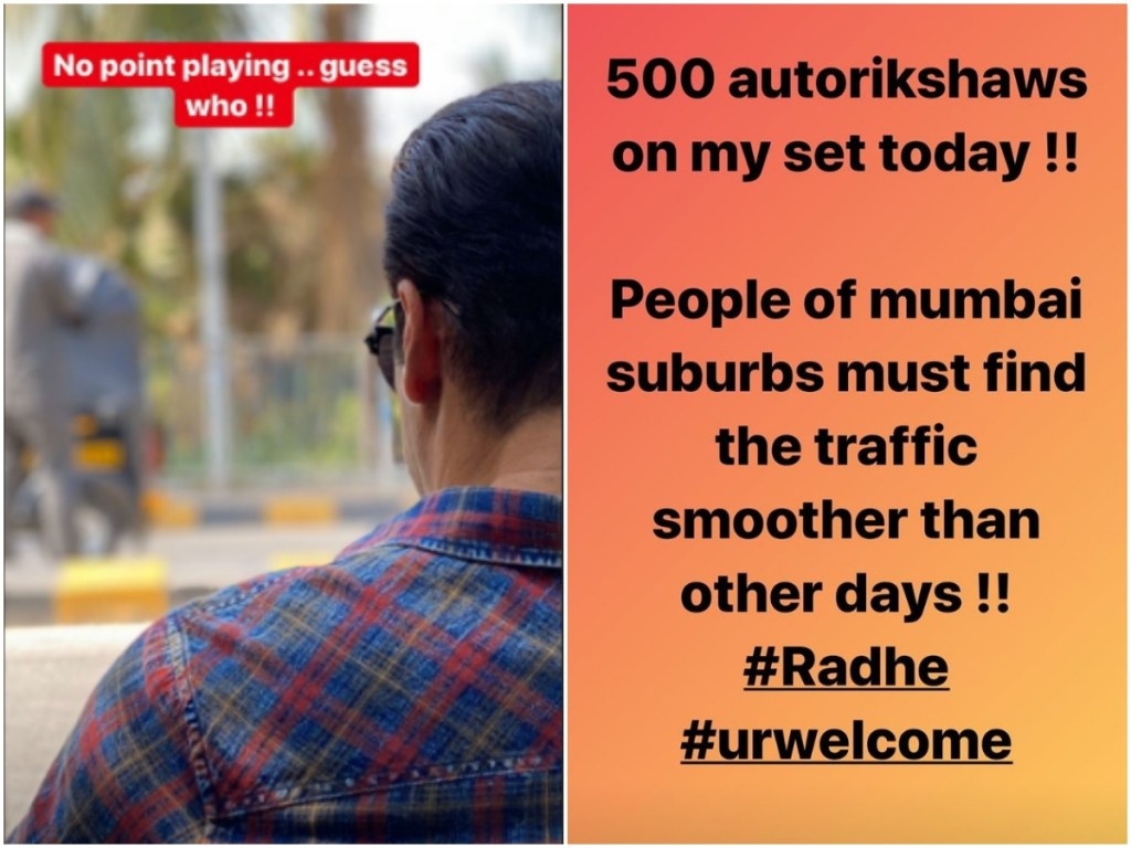 WHOA! 500 Auto-Rickshaws Arrived On Set Of Salman Khan's RADHE - YOUR MOST WANTED BHAI