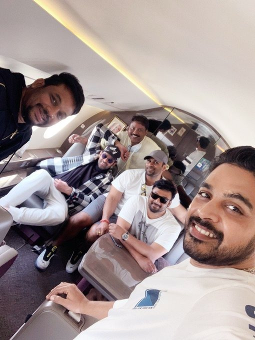 Superstar Prabhas Wraps Up Shooting For Another Schedule Of His Ucoming Flick!