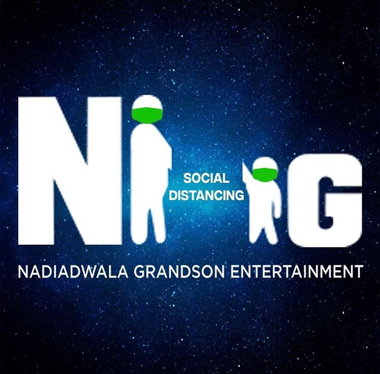 Nadiadwala Grandson Entertainment Promote Social Distancing In A Unique Way To Raise Awareness, Change Their Iconic Logo
