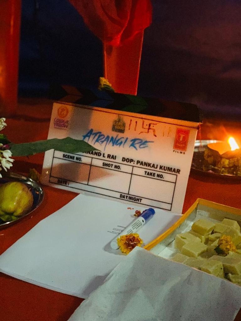 Akshay Kumar, Sara Ali Khan, And Dhanush Kick Starts The Shoot Of ATRANGI RE