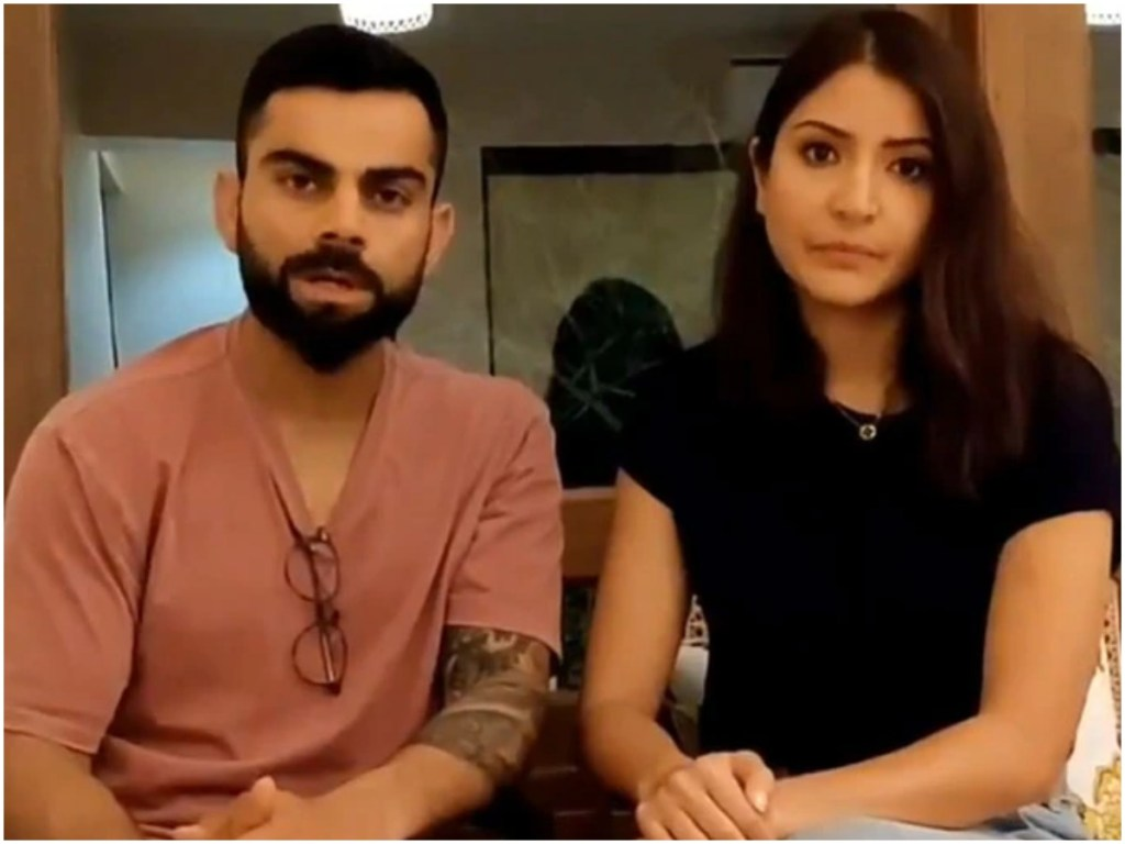 WATCH: Virat Kohli & Anushka Sharma Spread Awareness Regarding COVID-19, Asks People To Unite For 21 Days!