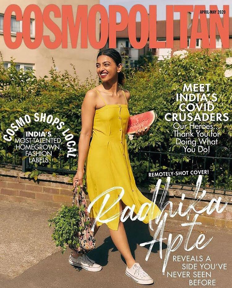 Postcard From London! Radhika Apte Graces The Remotely-Shot Cover Of A Leading Magazine, Giving Us The Summer Vibes