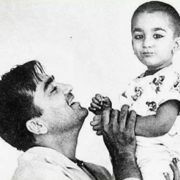 """Sanjay Dutt Shares A Heartwarming Post With His Late Father Sunil Dutt; """"Miss you today and everyday Dad"""""""