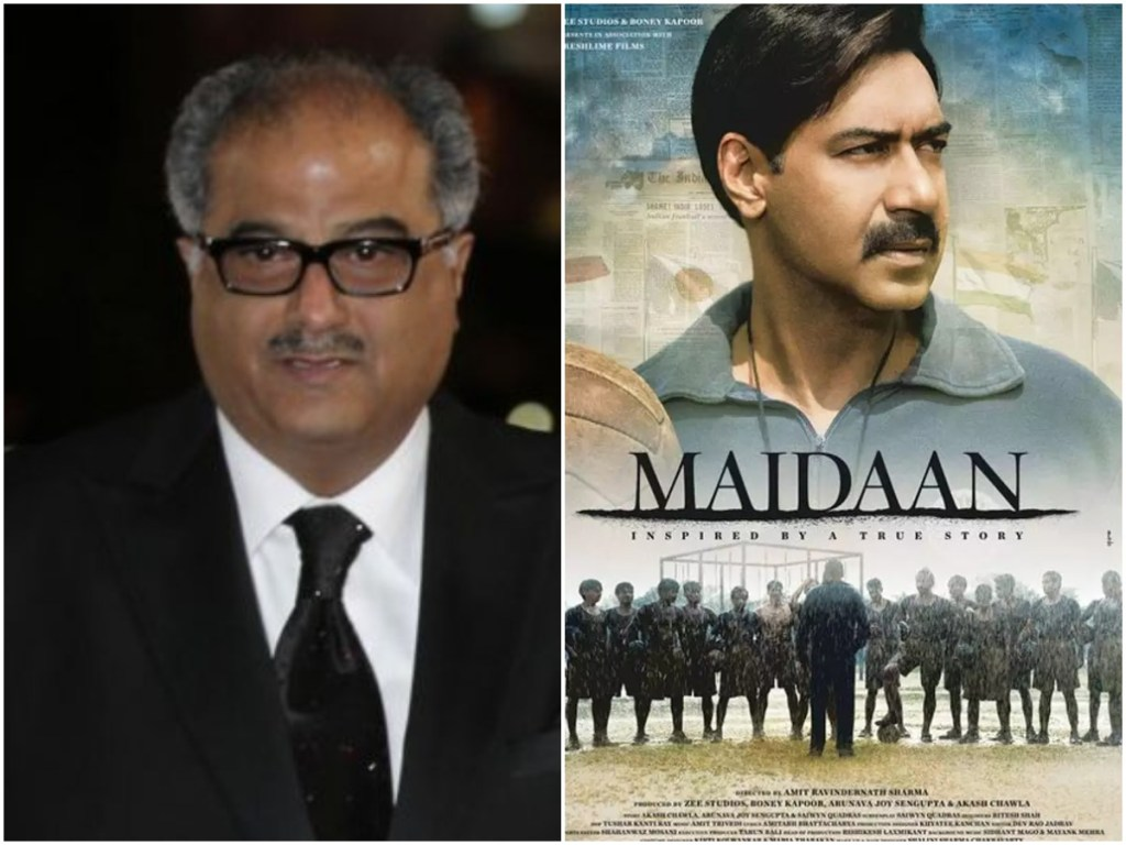 The Set Of Ajay Devgn's Maidaan To Get Dismantled, Confirms Producer Boney Kapoor