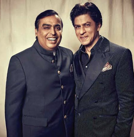 Mukesh Ambani's Fake Account On Twitter Claims That Shah Rukh Khan Has Been Removed From Jio Ads