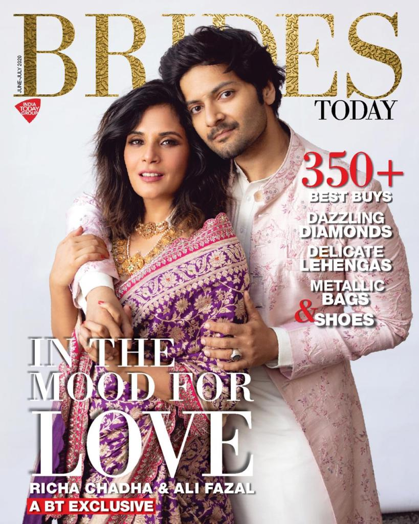 Richa Chadha & Ali Fazal Pose Together As A Couple In Their First Magazine Cover As A Couple