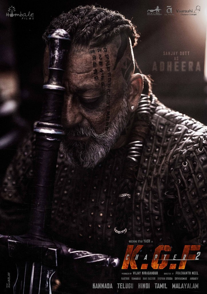 Happy Birthday Sanjay Dutt: The Makers Of KGF Chapter 2 Unveiled Sanjay Dutt's Character 'Adheera'
