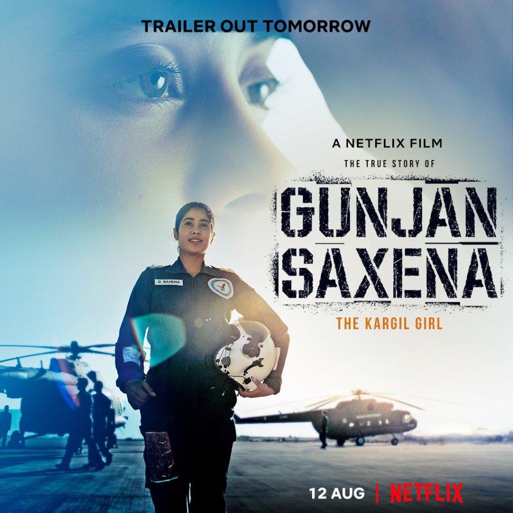 The Makers Of Janhvi Kapoor Starrer Gunjan Saxena: The Kargil Girl To Release The Trailer Tomorrow At 10 AM