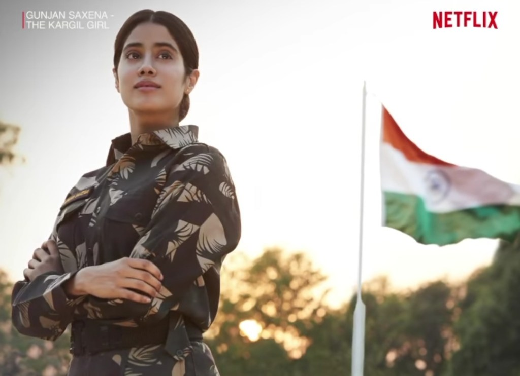 Gunjan Saxena The Kargil Girl Starring Janhvi Kapoor Is All Set To Premiere On Netflix On August 12 Box Office Worldwide