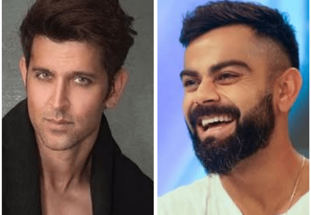 Hrithik Roshan Was The Most Admirable Person For Virat Kohli During His Childhood